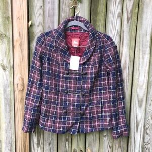 NWT Urban Outfitters Plaid Jacket sz M by Lux